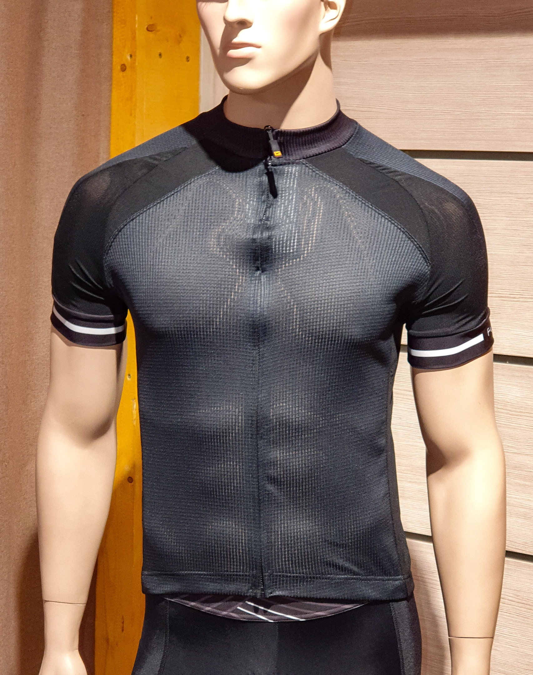 Велоджерси с коротким рукавом FUNKIERBIKE Firenze Men Active SS Jersey Black
