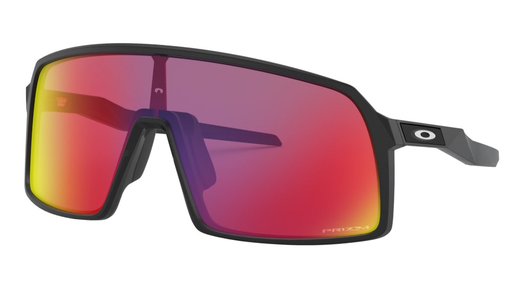 Очки OAKLEY Sutro Polished Black/Prizm Road, Линзы: S2
